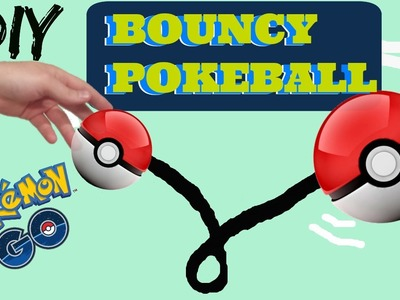 DIY Bouncy Pokeball. pokemon go | Diys by Abraham