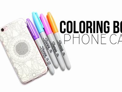 DIY Coloring Book Phone Case!