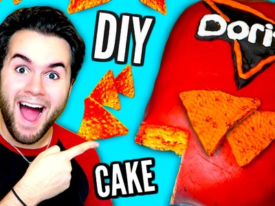 DIY DORITOS CAKE | Edible Dorito Bag! | How To Turn Cake Into Chips!