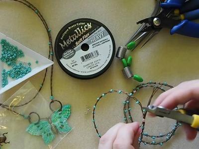 DIY Episode 16: Use Vintaj Patinas To Cover Crimp Tubes And Braid Soft Flex® Bangle Bracelets