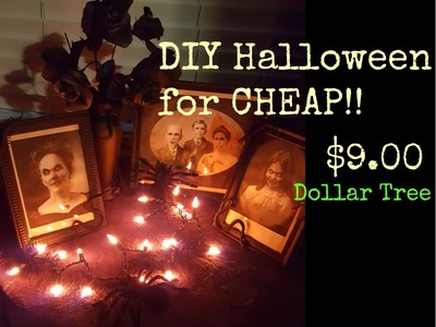 DIY Halloween Decorations: Dollar Tree Haul