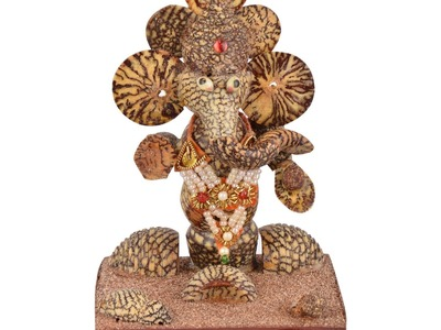 DIY : How to make  Eco friendly SUPARI  ganesh easy making step by step only 2 min