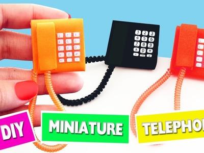 DIY | How to make miniature phone- Ver 1 - simplekidscrafts