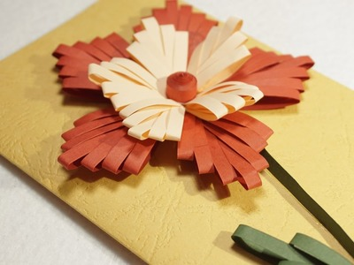 DIY Ideas | Paper Quilling Designs on Cards | HandiWorks #77