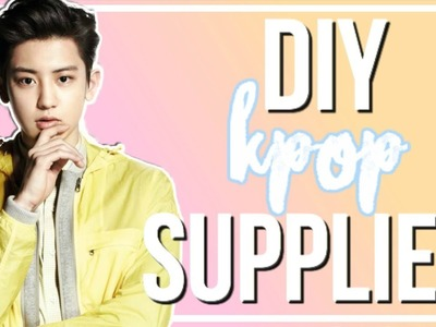 DIY K-Pop Back To School Supplies! | BTS, EXO, & More!