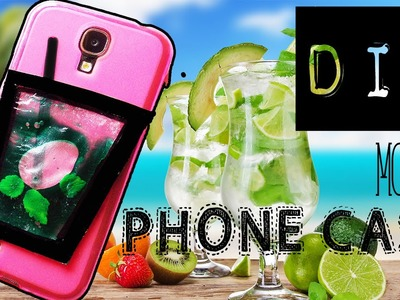 DIY LIQUID Mojito PHONE CASE