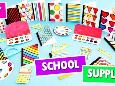 DIY | Miniature Back To School Supplies - 1 - SUPER EASY - simplekidscrafts