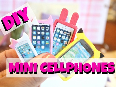 DIY Miniature Iphone and Cases | EASY DOLL DIY