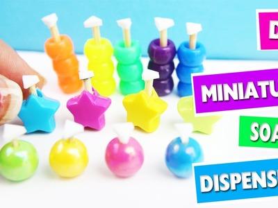 DIY | Miniature Soap Dispensers - simplekidscrafts