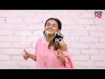 DIY: No Stitch Poncho