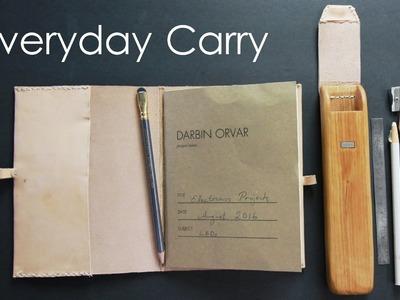 DIY Notebook & Pencil Case #EDC