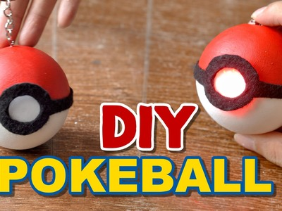 DIY Pokeball Torchlight Keychain | Under $10