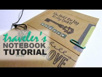 DIY Traveler's Notebook Insert Tutorial