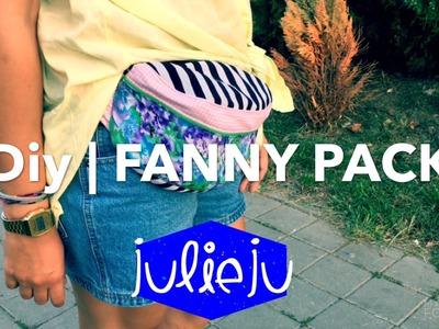 DIY Tutorial | Fanny Pack | Bum Bag | Waist Purse | Fashion Festival Look
