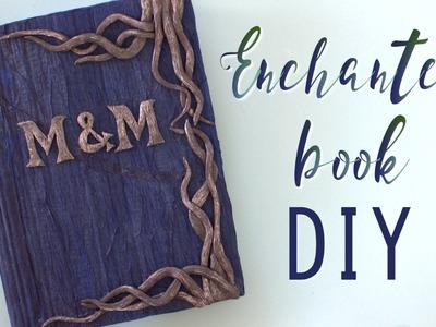 DIY Wedding Enchanted Guest book - Halloween Spell-book