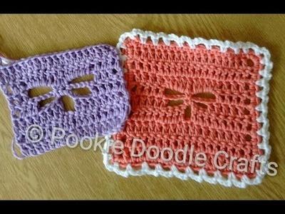 Dragonfly Stitch Crochet Tutorial