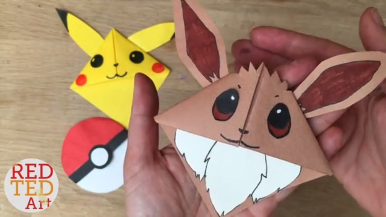 How To Make An Origami Dog Bookmark