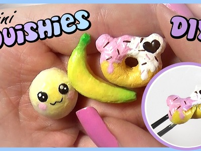 Easy Squishy Tutorial. Miniature DIY
