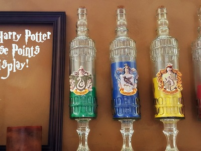 Harry Potter DIY Hogwarts House Points Display