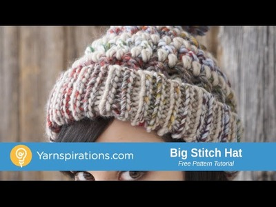 How To Crochet a Hat: Big Stitch Hat