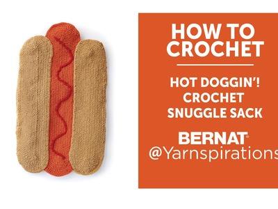 How To Crochet a Hot Dog Snuggle Sack