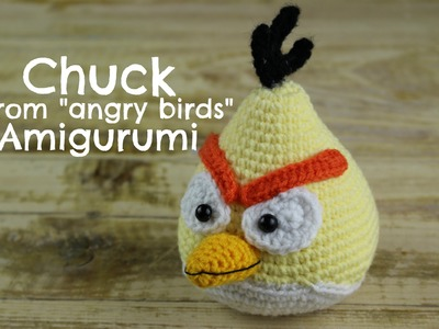 How to crochet CHUCK from angry birds Amigurumi | Eorld Of Amigurumi