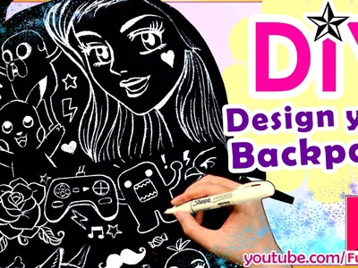 How to Design a Backpack | Easy DIY Art