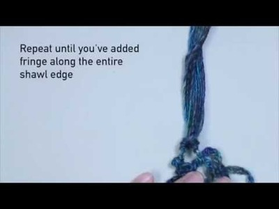 How to Easily Add Fringe