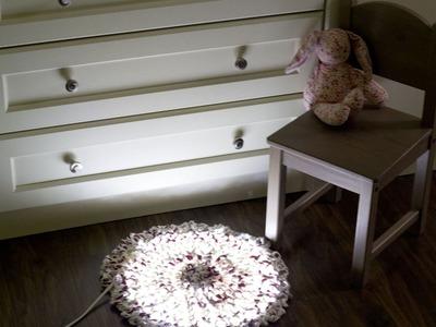 How to Make a Magical Fairy Light Rug