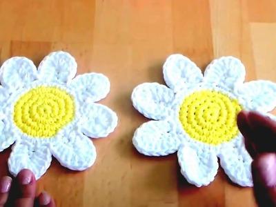 How To Make Flower in Crochet At Home | Crochet a Simple Flower | Flower In Crochet