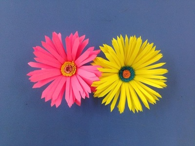 How to make paper flower | Easy origami flowers for beginners making | DIY-Paper Crafts