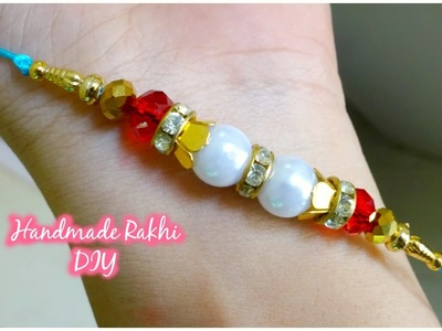 How to make rakhi | DIY rakhi tutorial for Raksha Bandhan
