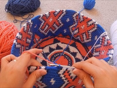 How to Prevent Tangles While Doing Tapestry Crochet