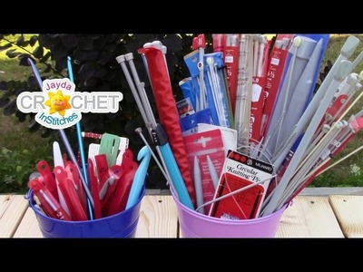 How To Size Your Crochet Hooks and Knitting Needles
