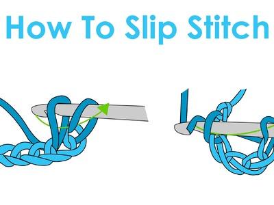 How to Slip Stitch - Crochet Lesson 3