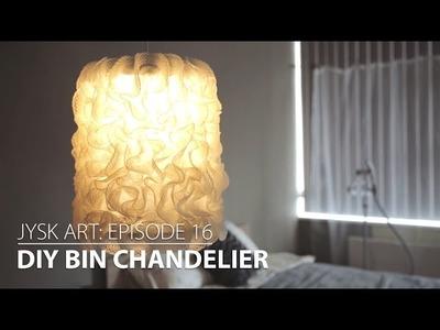 JYSKart Episode 16: DIY Bin Chandelier