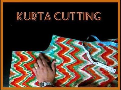 Kameez or Kurta Cutting Easy Method Step-by-Step (DIY) in Hindi