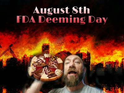 Let the FDA Eat Cheese Cake!  3 New DIY Recpies and Talking Augst 8th