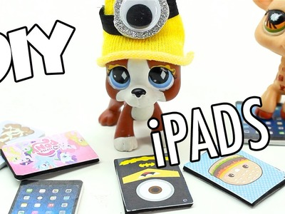 LPS -  DIY miniature iPad Minion, MLP, Adventure Time, Donuts & MORE!