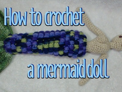 Mermaid Tail Crochet Tutorial