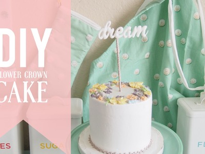 Oddly Satisfying Dream Cake | DIY Flower Crown Cake | Greggy Soriano