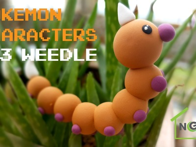 Pokemon characters | #13 | Weedle pokemon | MeNghe Homemade | How to make