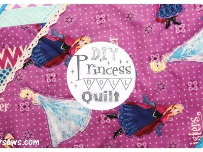 Princess Mini Quilt - DIY Disney - Whitney Sews