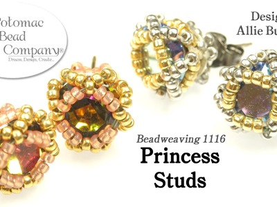 Princess Studs (Earrings) DIY Tutorial