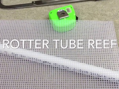 Refugium setup with DIY wall separator in saltwater aquarium