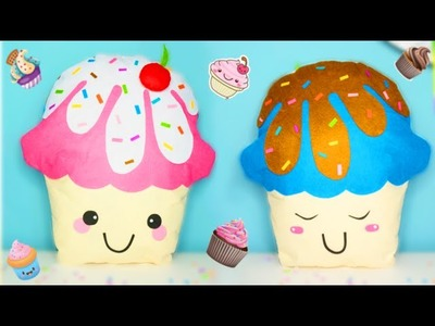 ROOM DECOR DIY: kawaii cupcakes pillow - very easy - Isa ❤️