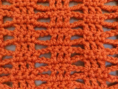 Simple Beginner Stitch - Crochet Tutorial