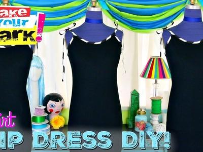 T-Shirt Slip Dress DIY