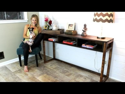 The $30 Console Table - DIY Project
