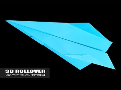 Best Paper Planes: How to make a paper airplane that flies - loops | 3D Rollover